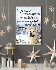 Akita My Mind Poster 0701 11x17 Poster lifestyle-holiday-poster-1