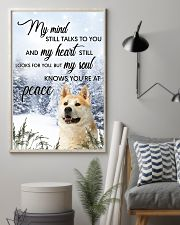 Akita My Mind Poster 0701 11x17 Poster lifestyle-poster-1