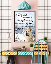 Akita My Mind Poster 0701 11x17 Poster lifestyle-poster-6