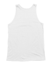 Great Pyrenees stripped All-over Unisex Tank back