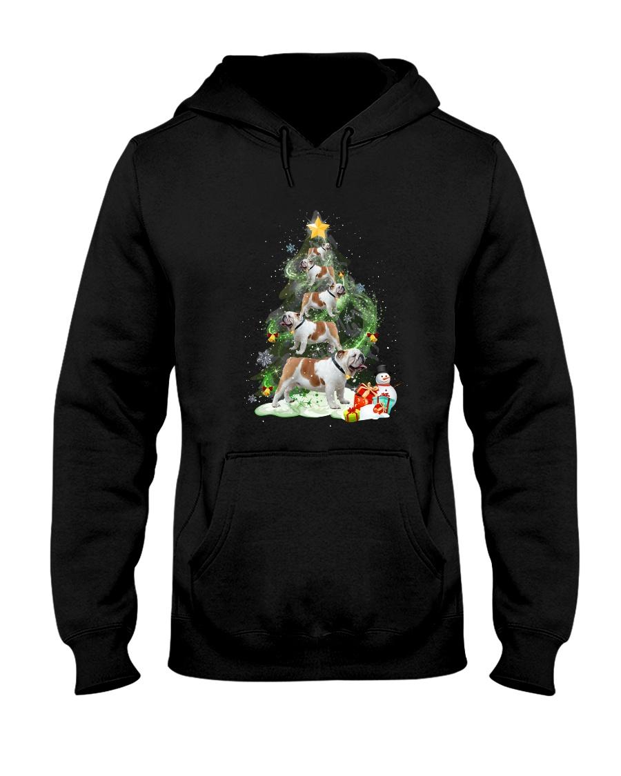 Bulldog Pine 1809 Hooded Sweatshirt