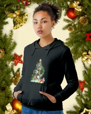 Bulldog Pine 1809 Hooded Sweatshirt lifestyle-holiday-hoodie-front-4