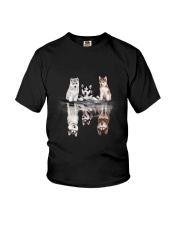 Siberian Husky Dreaming 3 Youth T-Shirt thumbnail
