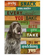 Wirehaired Pointing Griffon Watching Poster 1601  11x17 Poster front