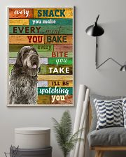 Wirehaired Pointing Griffon Watching Poster 1601  11x17 Poster lifestyle-poster-1