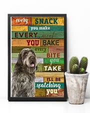 Wirehaired Pointing Griffon Watching Poster 1601  11x17 Poster lifestyle-poster-8