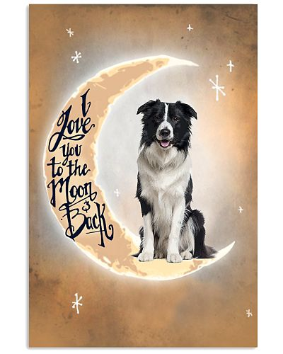 Border Collie I Love You Poster 2612