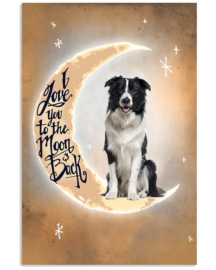 Border Collie I Love You Poster 2612  11x17 Poster
