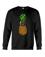 Pug Pineapple  Crewneck Sweatshirt thumbnail