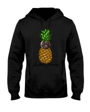Pug Pineapple  Hooded Sweatshirt thumbnail