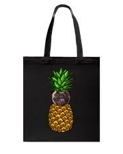 Pug Pineapple  Tote Bag thumbnail