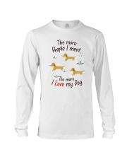 The More I Love My Dog Long Sleeve Tee thumbnail
