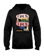 Labrador Retriever I love you in the morning  Hooded Sweatshirt thumbnail