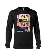 Labrador Retriever I love you in the morning  Long Sleeve Tee thumbnail
