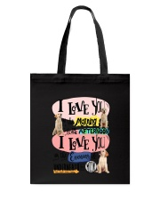 Labrador Retriever I love you in the morning  Tote Bag thumbnail