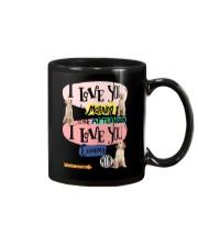 Labrador Retriever I love you in the morning  Mug tile
