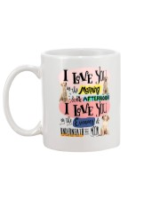 Labrador Retriever I love you in the morning  Mug back