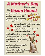 Ibizan Hound Mother Day Poem Poster 2801 11x17 Poster front