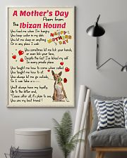 Ibizan Hound Mother Day Poem Poster 2801 11x17 Poster lifestyle-poster-1