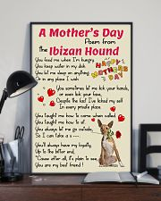 Ibizan Hound Mother Day Poem Poster 2801 11x17 Poster lifestyle-poster-2