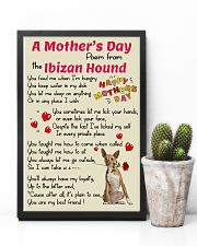 Ibizan Hound Mother Day Poem Poster 2801 11x17 Poster lifestyle-poster-8