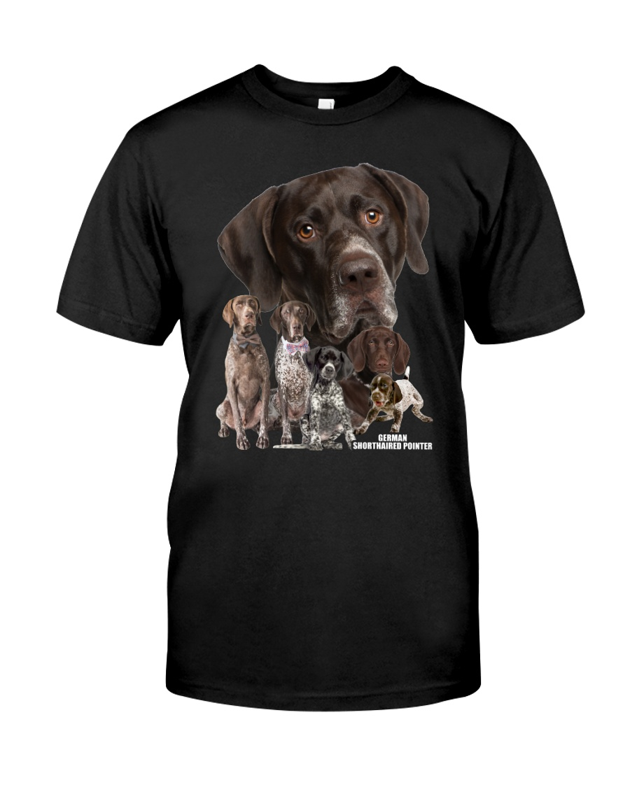 German Shorthaired Pointer Awesome Family 0701 Classic T-Shirt