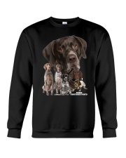 German Shorthaired Pointer Awesome Family 0701 Crewneck Sweatshirt thumbnail
