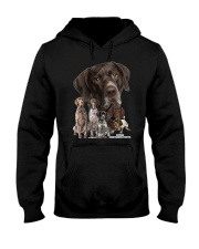 German Shorthaired Pointer Awesome Family 0701 Hooded Sweatshirt thumbnail