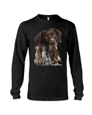 German Shorthaired Pointer Awesome Family 0701 Long Sleeve Tee thumbnail