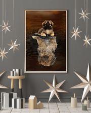 Tibetan Spaniel Believe 11x17 Poster lifestyle-holiday-poster-1