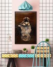 Tibetan Spaniel Believe 11x17 Poster lifestyle-poster-6