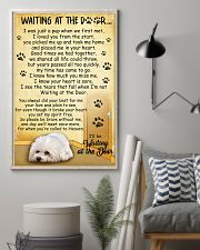 Bichon Frise Waiting At The Door Poster 2301 11x17 Poster lifestyle-poster-1