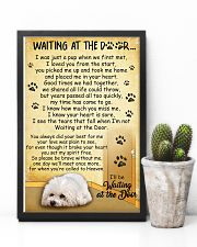 Bichon Frise Waiting At The Door Poster 2301 11x17 Poster lifestyle-poster-8
