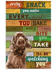 Sussex-Spaniel Watching You Poster 2601 11x17 Poster front