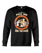 You  Me and Dogs Crewneck Sweatshirt thumbnail