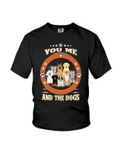 You  Me and Dogs Youth T-Shirt thumbnail