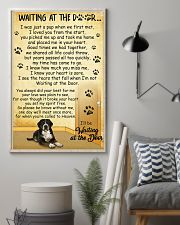 Greater Swiss Mountain Dog Waiting at The Door 11x17 Poster lifestyle-poster-1