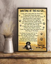 Greater Swiss Mountain Dog Waiting at The Door 11x17 Poster lifestyle-poster-3