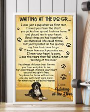 Greater Swiss Mountain Dog Waiting at The Door 11x17 Poster lifestyle-poster-4