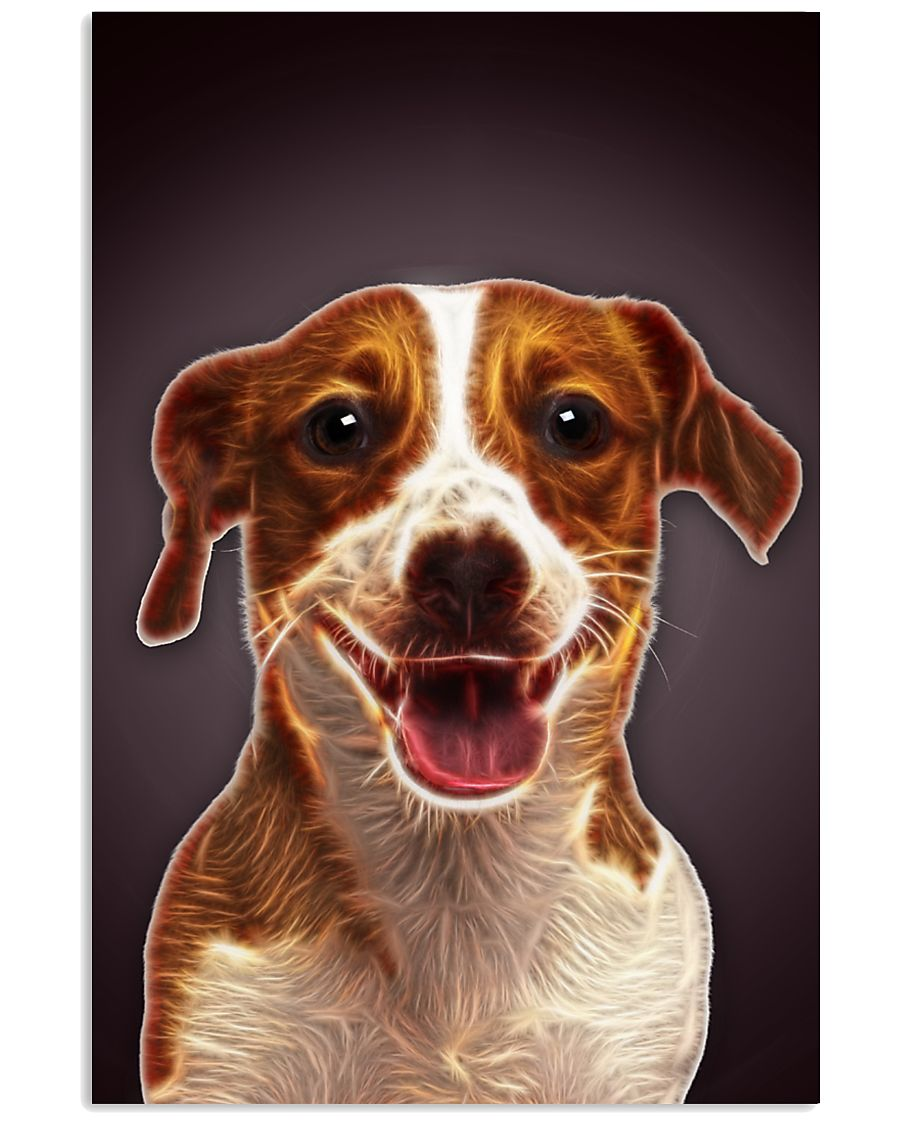 Jack Russell Terrier Fractal 1512 11x17 Poster