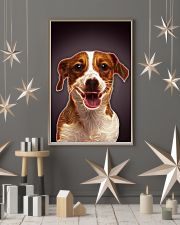 Jack Russell Terrier Fractal 1512 11x17 Poster lifestyle-holiday-poster-1