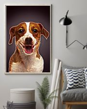Jack Russell Terrier Fractal 1512 11x17 Poster lifestyle-poster-1