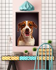 Jack Russell Terrier Fractal 1512 11x17 Poster lifestyle-poster-6