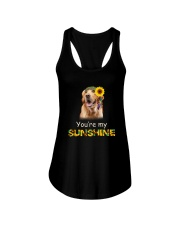 Golden retriever sunshine 0608 Ladies Flowy Tank thumbnail