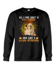 Golden Retriever Halloween Crewneck Sweatshirt thumbnail