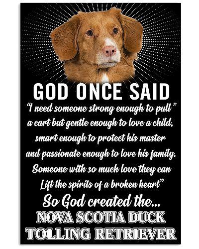 Nova Scotia Duck Tolling Retrie God Poster 2901