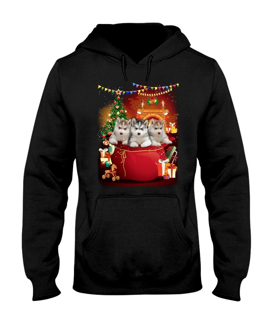GAEA - Siberian Husky Bag - 0510 - B24 Hooded Sweatshirt