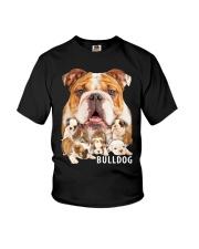 Bulldog Awesome Youth T-Shirt thumbnail