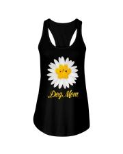 Dog mom Ladies Flowy Tank thumbnail