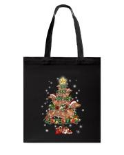 Dachshund and pine Tote Bag thumbnail